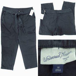 Universal Thread High Crop Cargo Pants 18 36x26